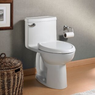 Cadet Compact 3 Flowise 1.28 GPF Elongated One-Piece Toilet (Seat Included)