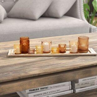 10 Piece Glass Votive Set