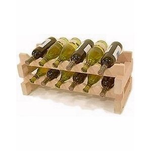 12 Bottle Tabletop Wine Rack by Wineracks..