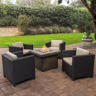 Burch 5 Piece Conversation Set With Cushions
