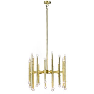 Everly Quinn Gaillard 30-Light Sputnik Chandelier