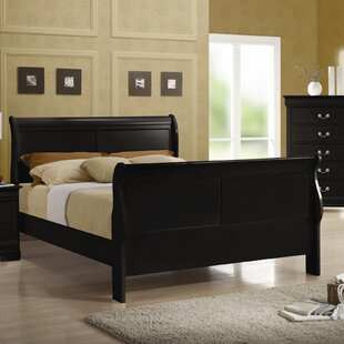 Northampton Sleigh Bed by Alcott Hill