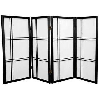 World Menagerie Marla 5 Panel Room Divider Reviews Wayfair
