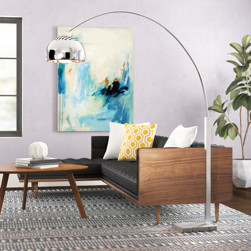 Claireville 70 Arched Floor Lamp