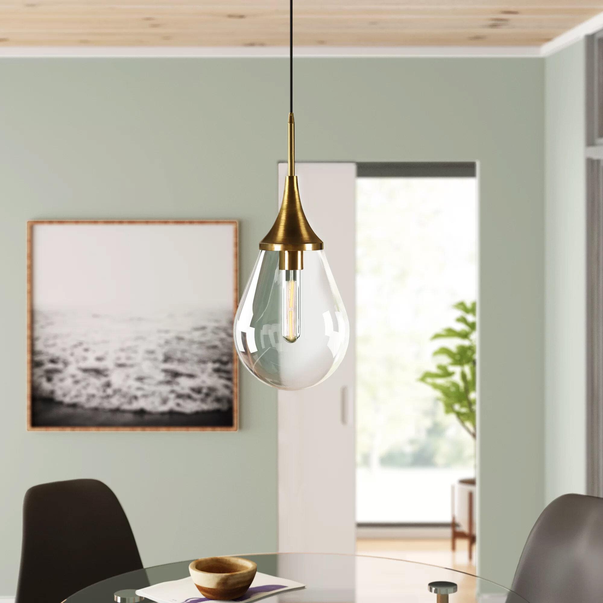 Modern Farmhouse Sloped Ceiling Pendant Lighting Allmodern