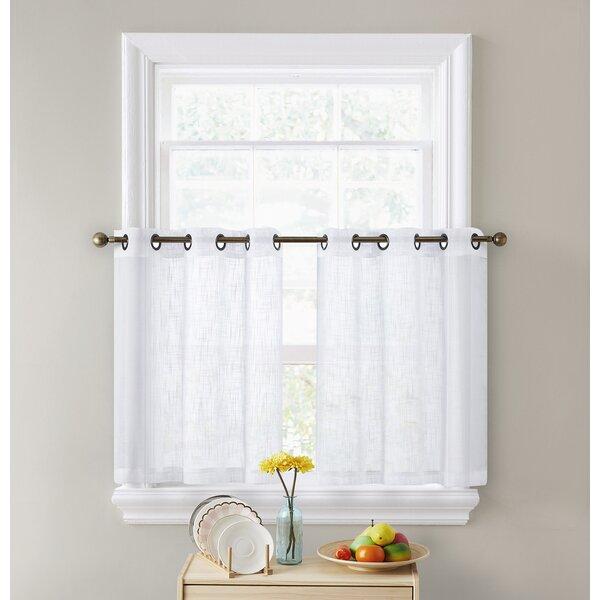 Semi Sheer Cafe Curtains Wayfair