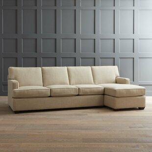 AllModern Custom Upholstery Johnnie Secti..