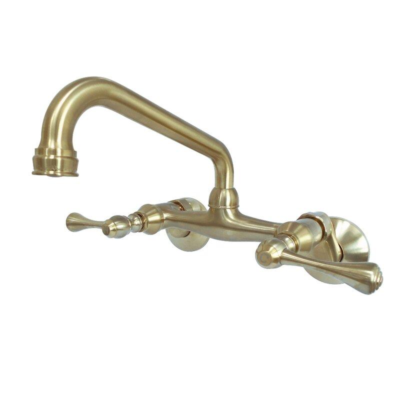 Kingston Bridge Faucet #brass #bridge #faucet