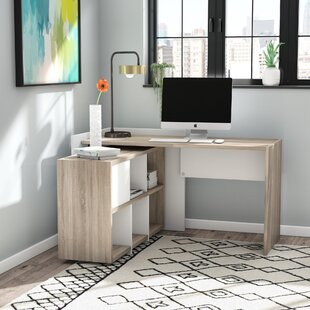 Zipcode Design Chang L- Shape Writing Desk