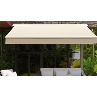 Sunjoy 14 ft. W x 10 ft. D Retractable Patio Awning by Sunjoy