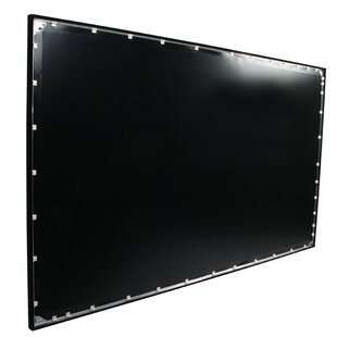 ezFrame White 92 Fixed Frame Projection Screen by Elite Screens