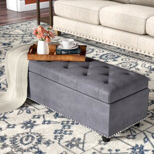 Three Posts Arehart Storage Ottoman