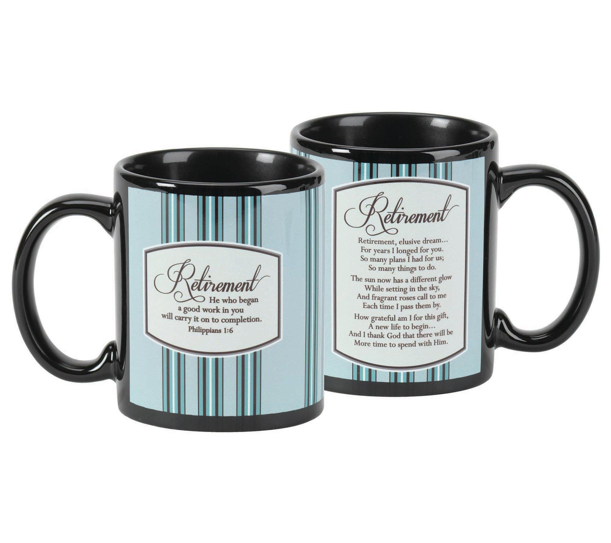 Work For God Retirement Benefits Great Ceramic Coffee Tea Mug Cup