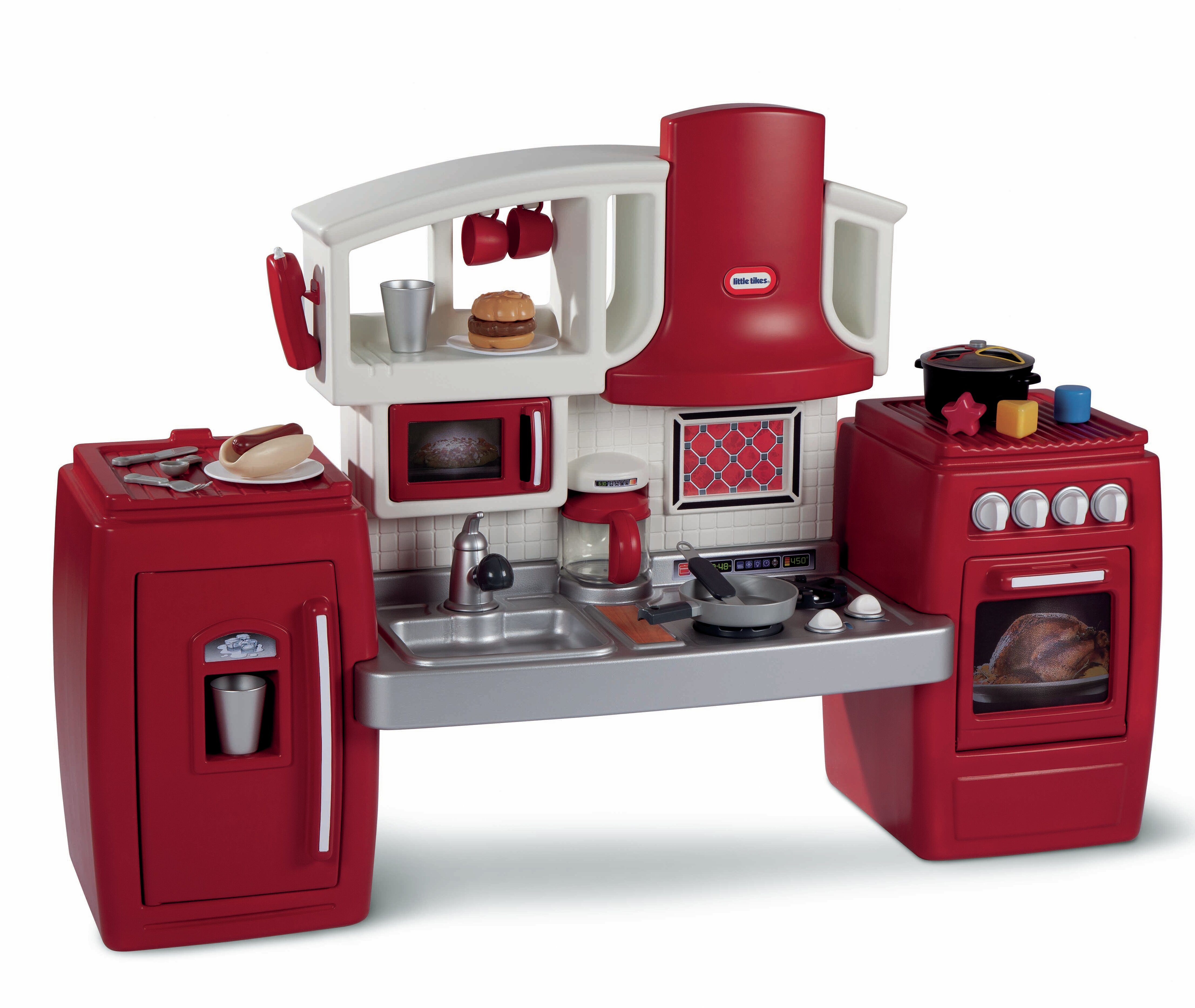 little tikes cook n grow kitchen set reviews wayfair rh wayfair com  walmart little tikes kitchen set