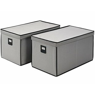 Fabric Underbed Storage (Set of 2) By Rebrilliant
