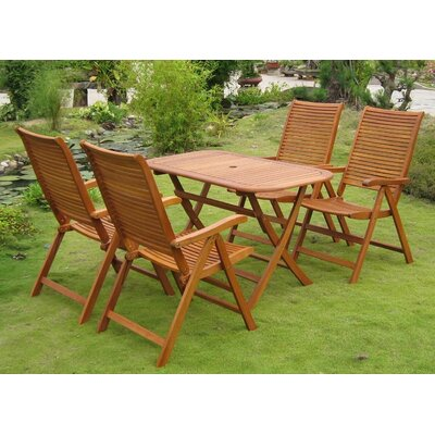 Sabbattus Vendrell 5 Piece Dining Set by Breakwater Bay Purchase
