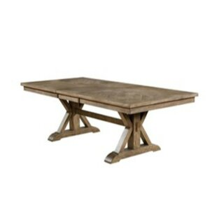 Lowell Solid Wood Dining Table