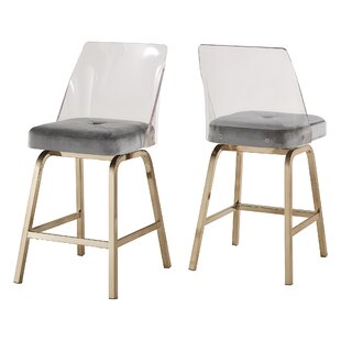 Booneville 24 Swivel Bar Stool (Set of 2)