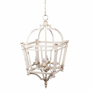 Galilea Classic Vintage Bird Cage 4-Light..