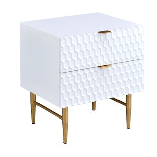 Cutrer 2 Drawer Nightstand by Corrigan Studio