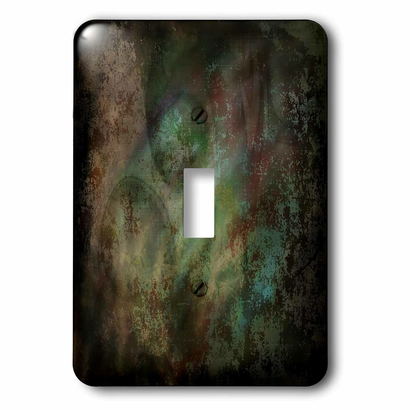3drose Painted Grunge 1 Gang Toggle Light Switch Wall Plate Wayfair
