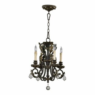 Check Prices Ancram 4-Light Candle Style Chandelier By Astoria Grand
