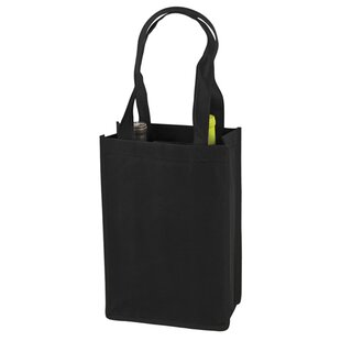 2 Bottle Non-Woven Tote by True Brands New