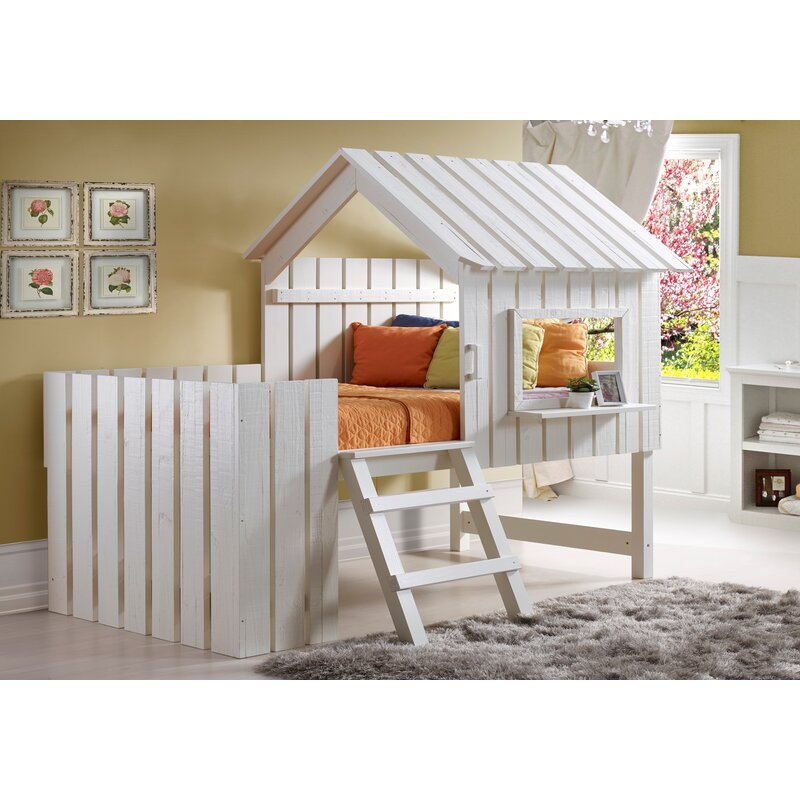 Bon Wasserhund Twin Low Loft Bed