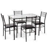 Satterlee 5 - Piece Dining Set by 17 Stories