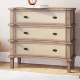 Cavana 3 Drawers Apothecary Accent Chest by August Grove
