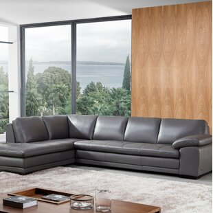 Dark Gray Leather Sectional Wayfair