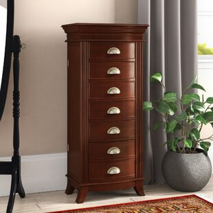 Compare prices Hillesden Jewelry Armoire By Darby Home Co