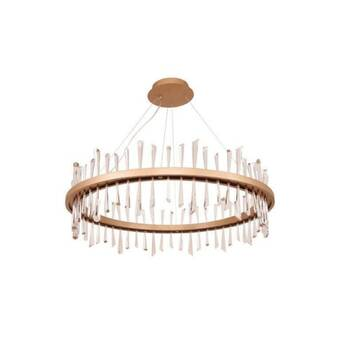 Ebern Designs Ewenn 6 Light Statement Rectangle Led Chandelier Reviews Wayfair