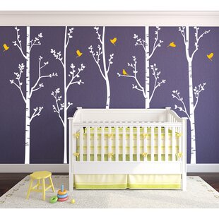 Birch Trees Wall Decal (Set Of 5)