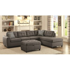 Hudson Square Reversible Sectional by Varick Gallery