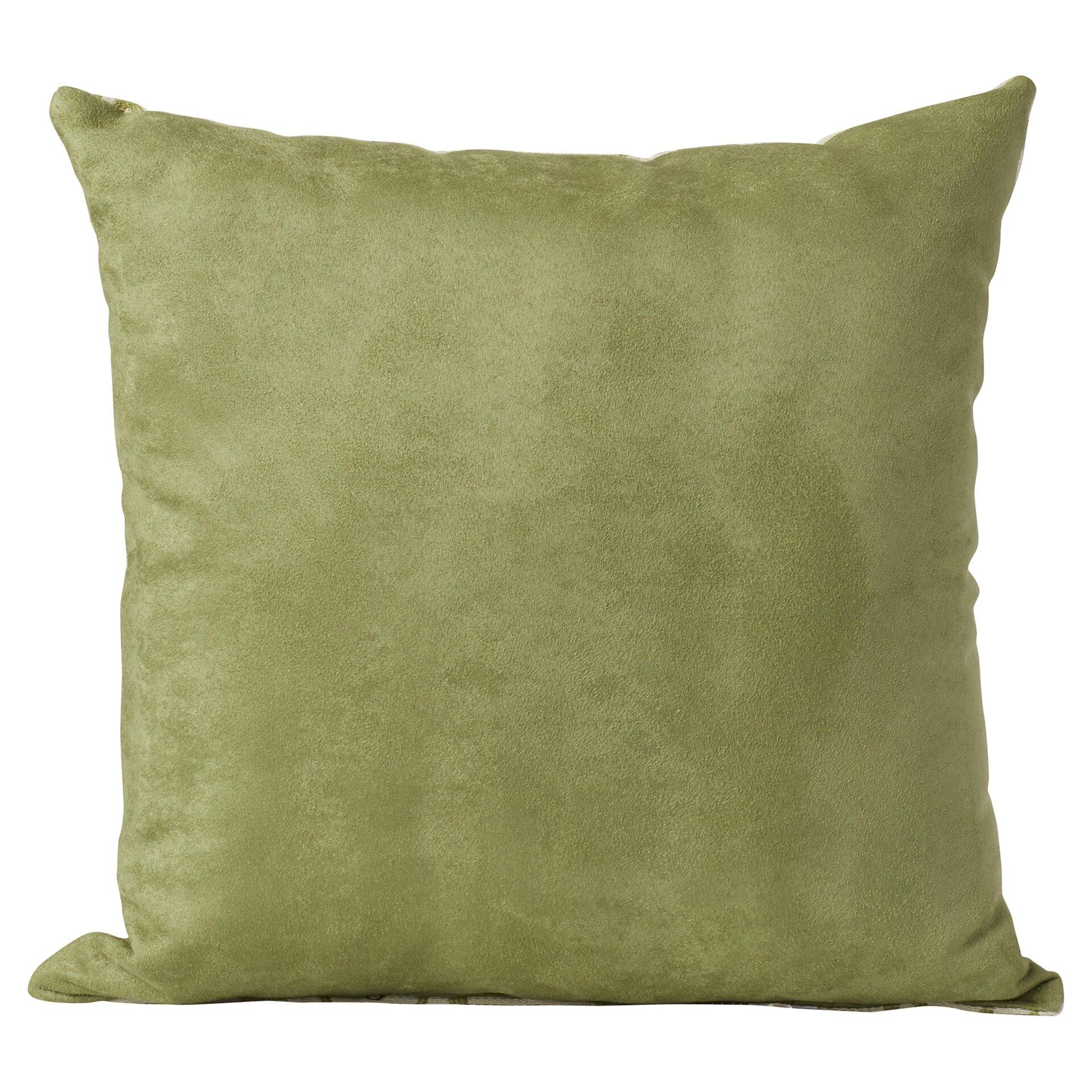 Darby Home Co Milsent Knife Edge Cotton Throw Pillow & Reviews Wayfair