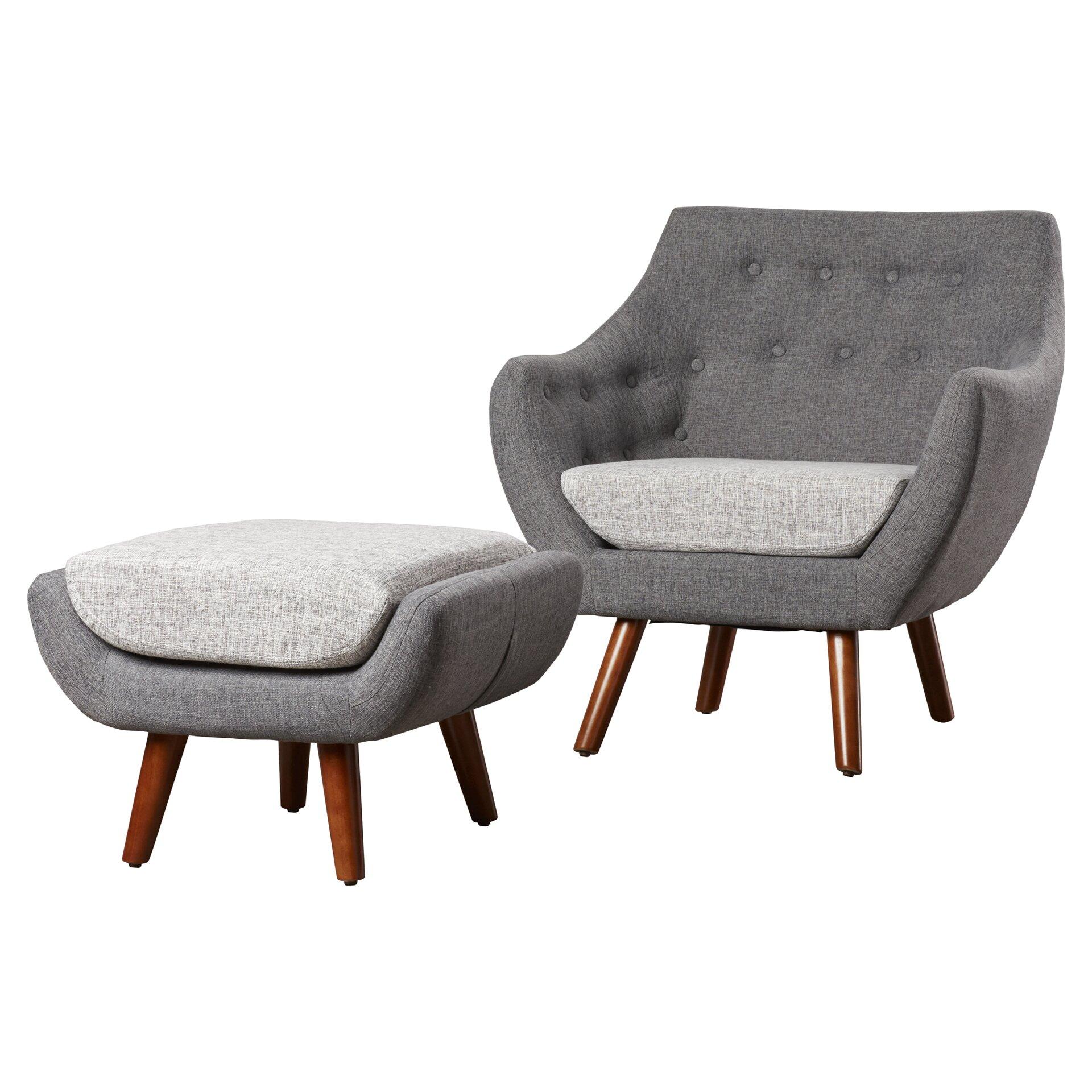 Armchair With Ottoman Set De Sede Ds 85 Leather Armchair