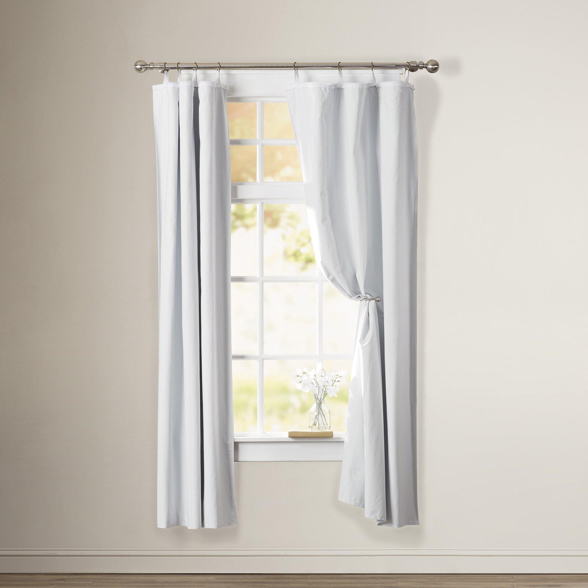Alcott Hill Dorset Solid Blackout Thermal Grommet Curtain Liner