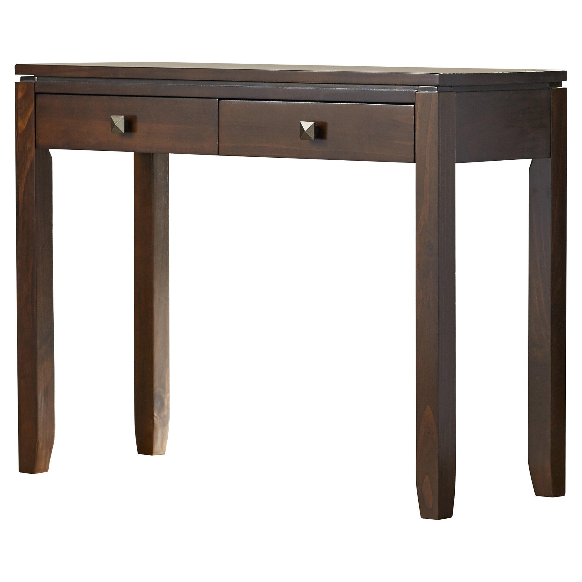 Simpli home cosmopolitan console sofa table reviews for 5 sofa table