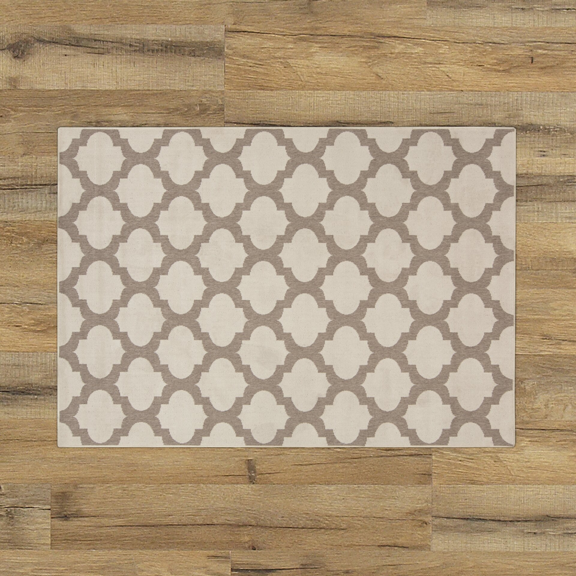 Birch Lane Odell Taupe Indoor Outdoor Area Rug & Reviews