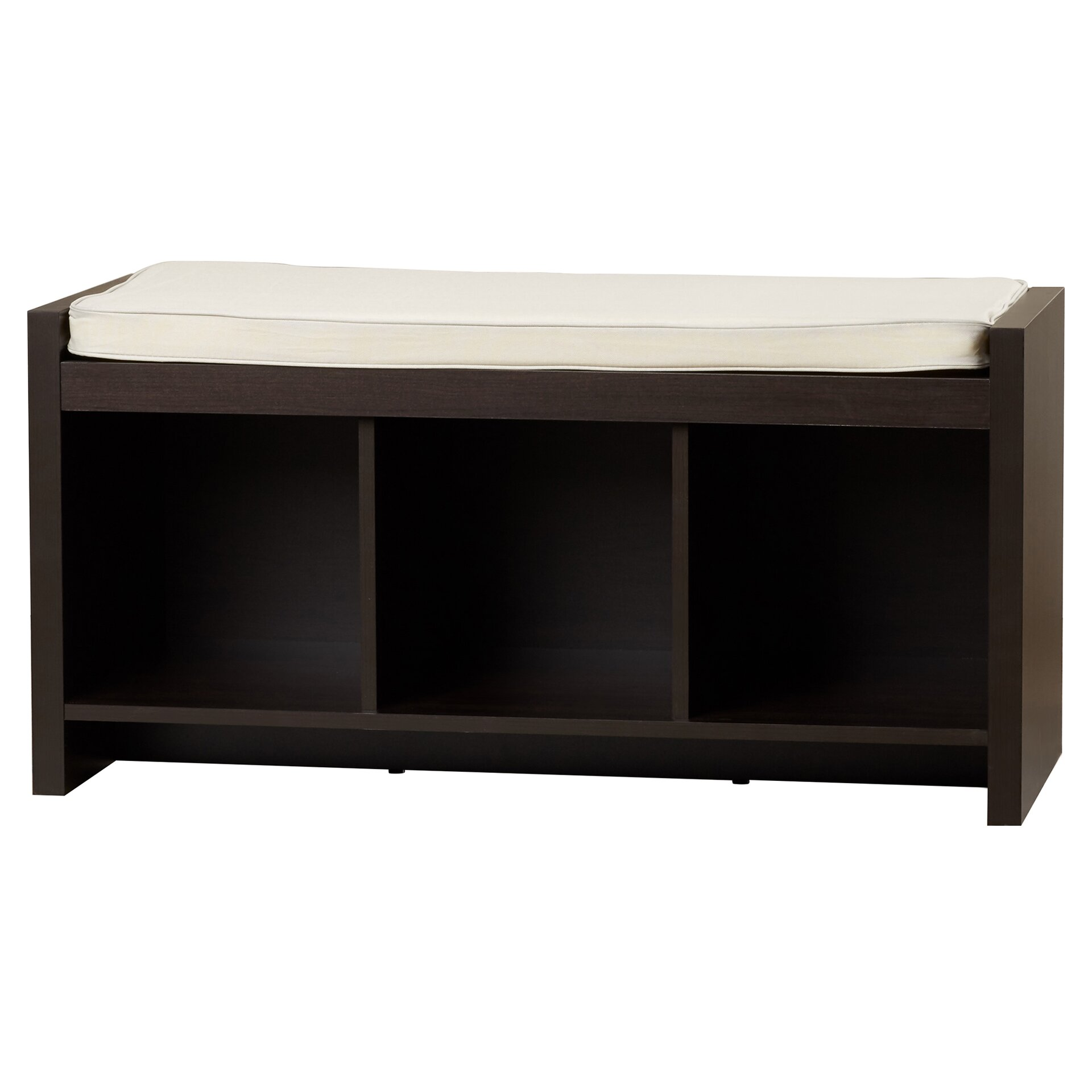 Bedroom benches with storage - Claudia Storage Bench With Cushion