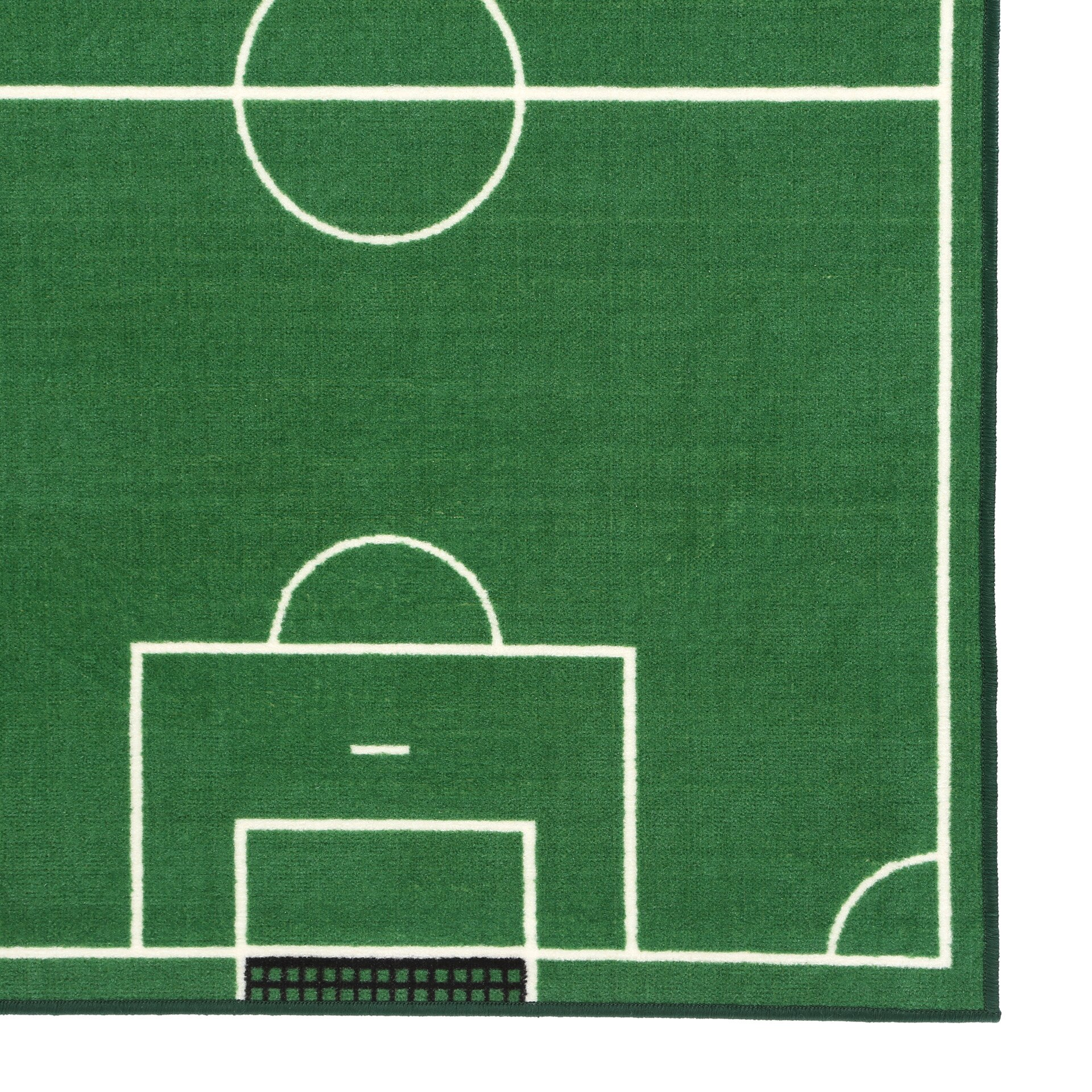 Fun Rugs Fun Time Soccer Field Sports Area Rug Amp Reviews