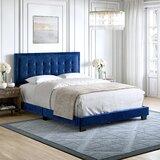 Asyraf Tufted Upholstered Platform Bed by Latitude Run®