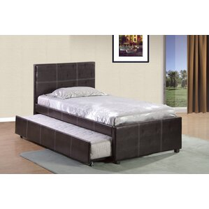 Twin Upholstered Platform Bed by Varick Gallery