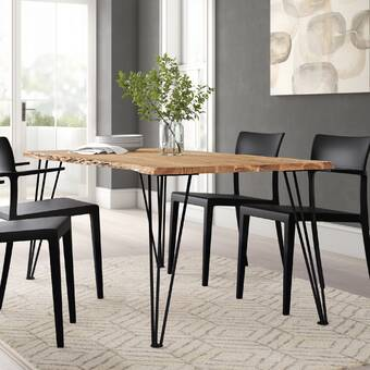 Brayden Studio Diogenes Dining Table Wayfair