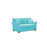 Adaysha 62.2'' Rolled Arm Loveseat by Red Barrel Studio®