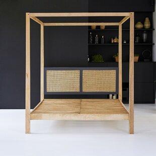 Review Rafael European Kingsize (160 X 200 Cm) Canopy Bed