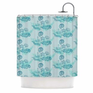 Famenxt Ocean Single Shower Curtain By East Urban Home