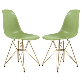 Riehemann Molded Dining Chair (Set of 2) by Ebern Designs