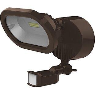 Nuvo Lighting 14-Watt Outdoor Security Fl..